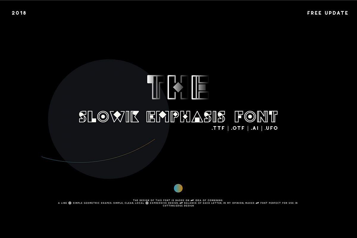 Slowik Emphasis-Regular Font example image 1