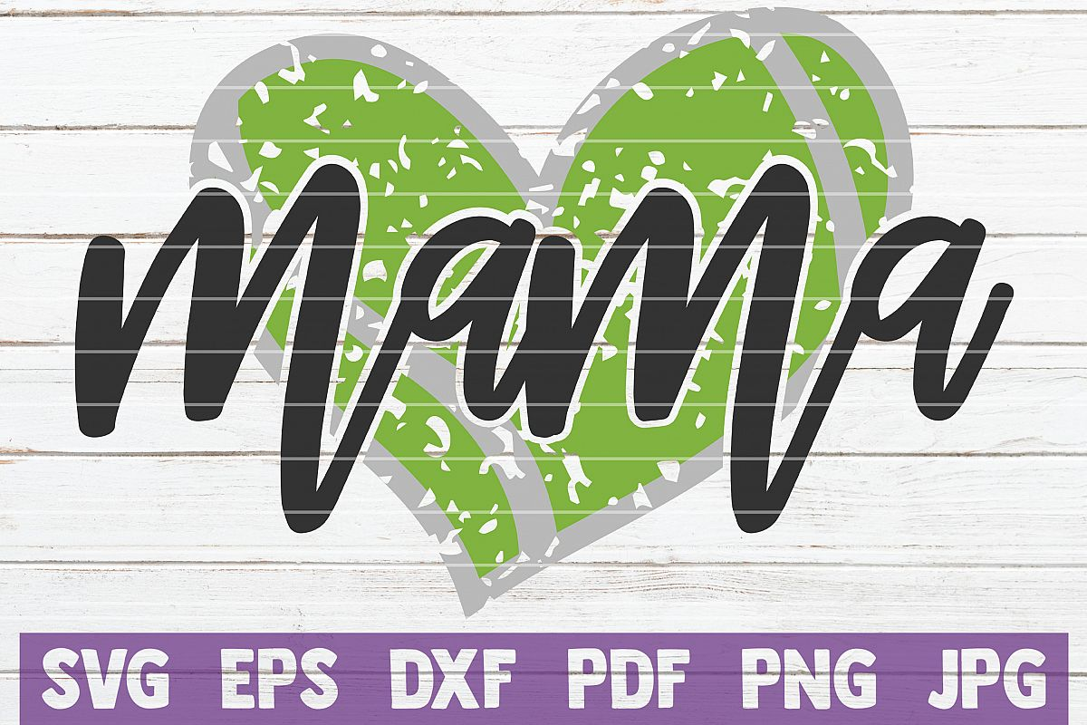 Tennis Mama SVG Cut File | commercial use example image 1
