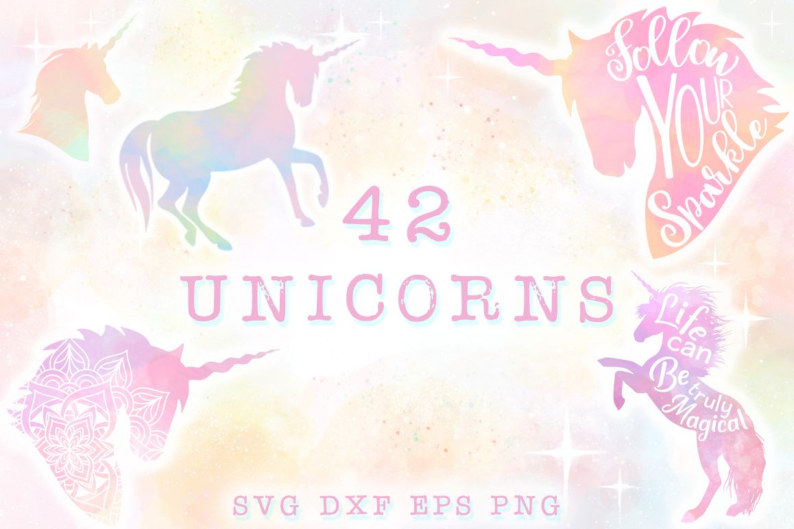 Unicorn SVG Bundle - The Complete Craft Collection example image 1
