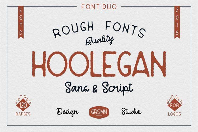 Hoolegan Font Duo example image 1
