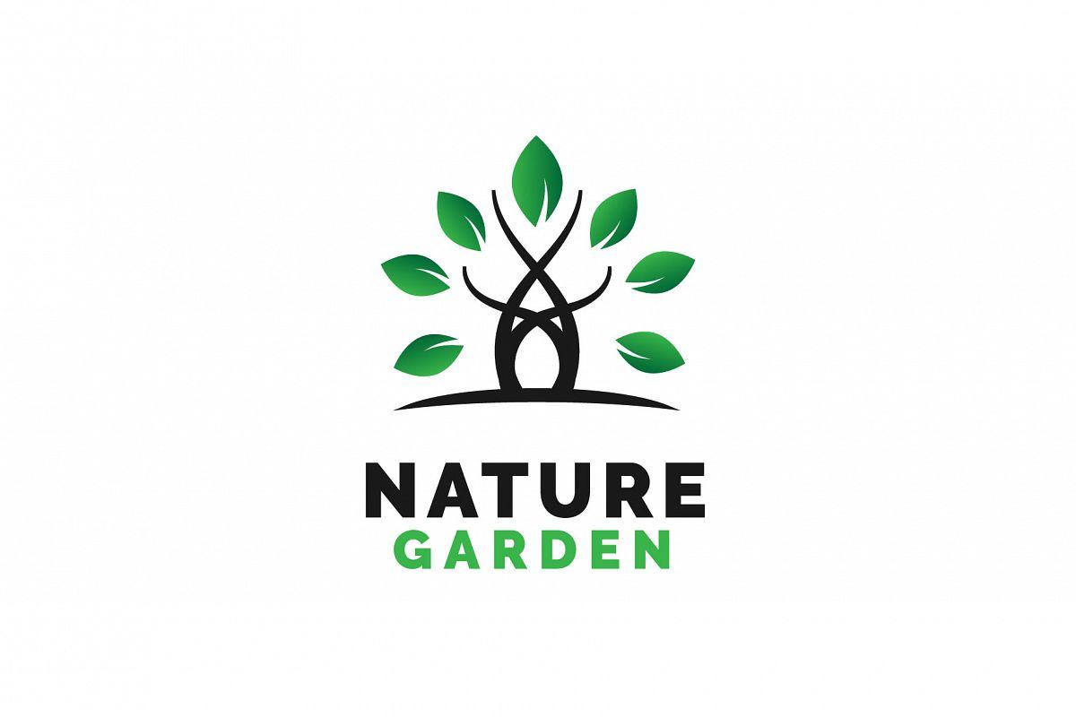 Nature Garden Logo Vol.04 example image 1