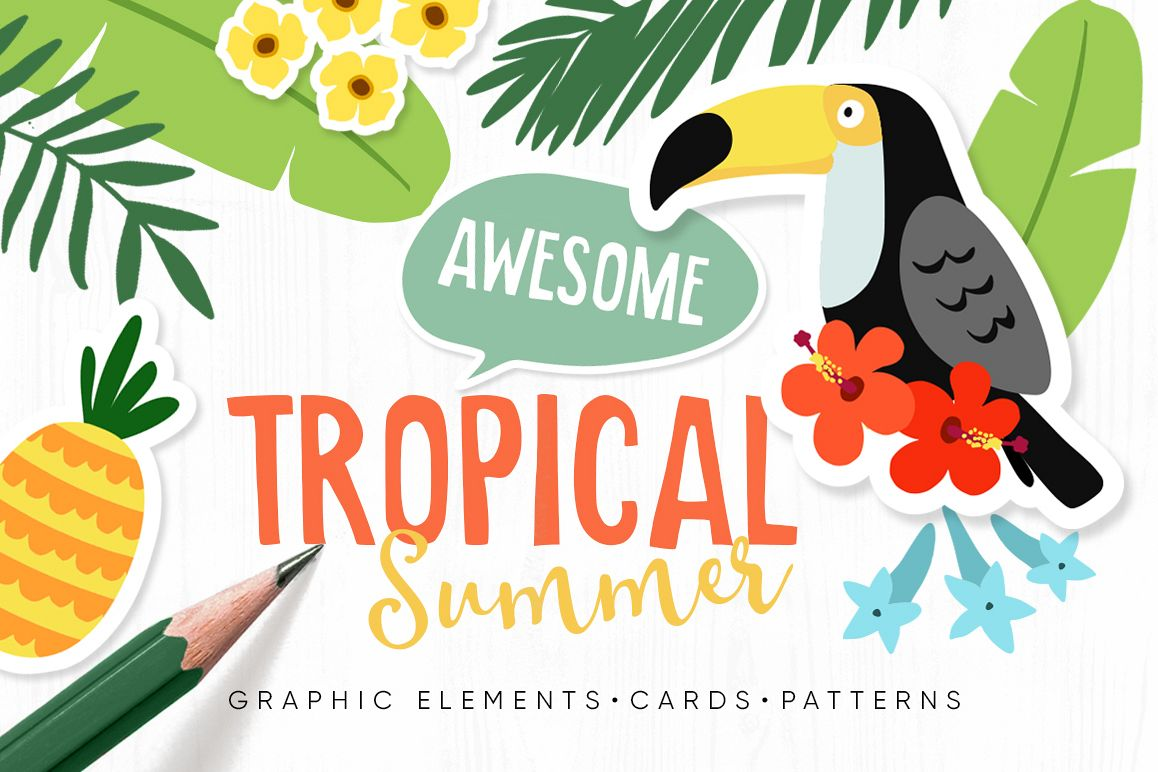 Tropical Summer Set example image 1