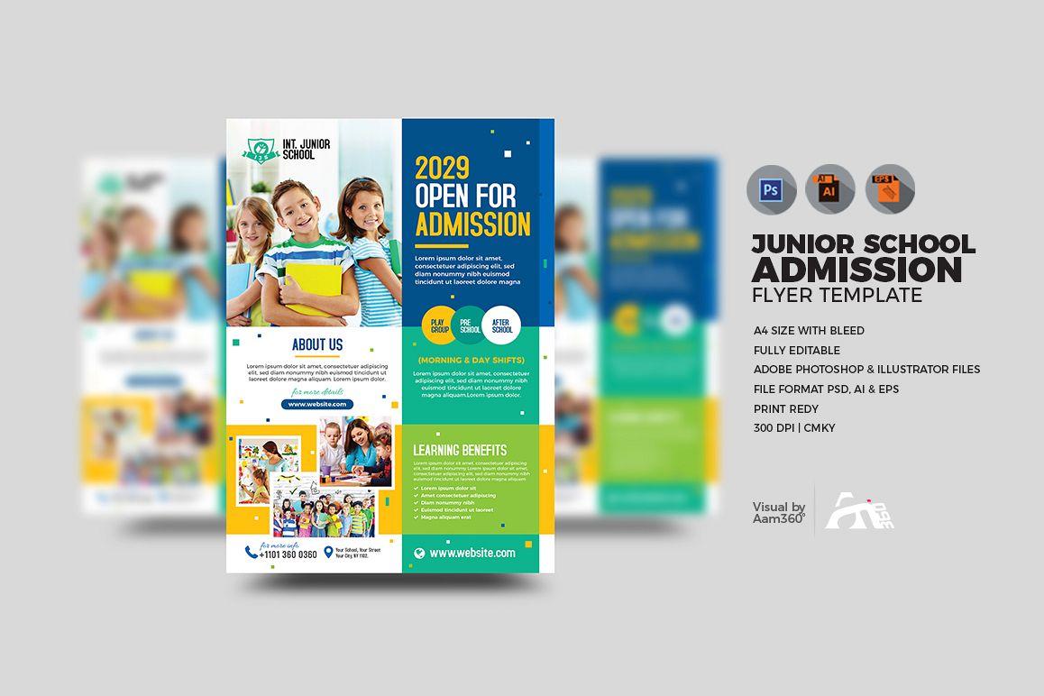 Junior School Admission Flyer example image 1