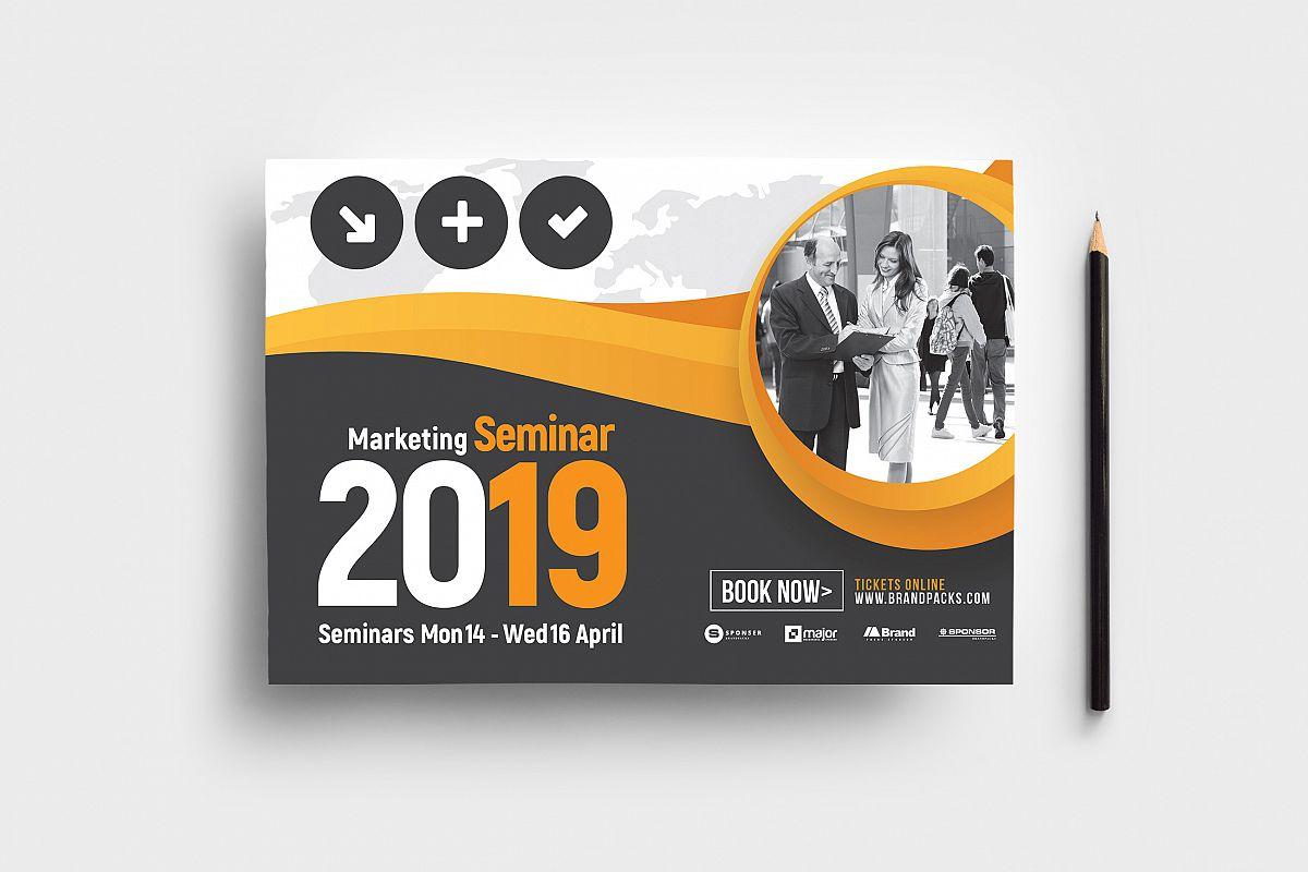 Marketing Seminar Flyer Template example image 1