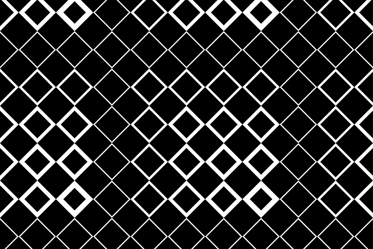 Vector black and white halftone background. Seamless pattern. Textile rapport.  example image 1