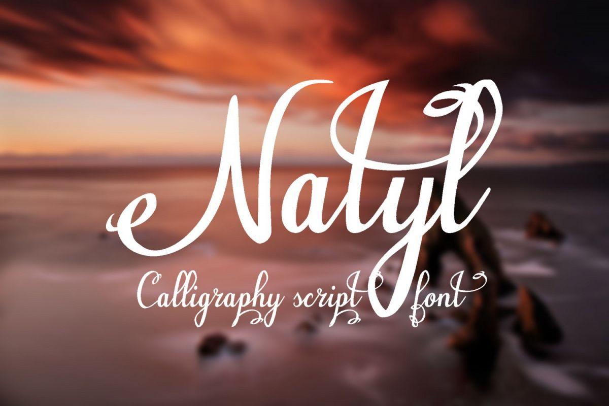 Natyl Font example image 1