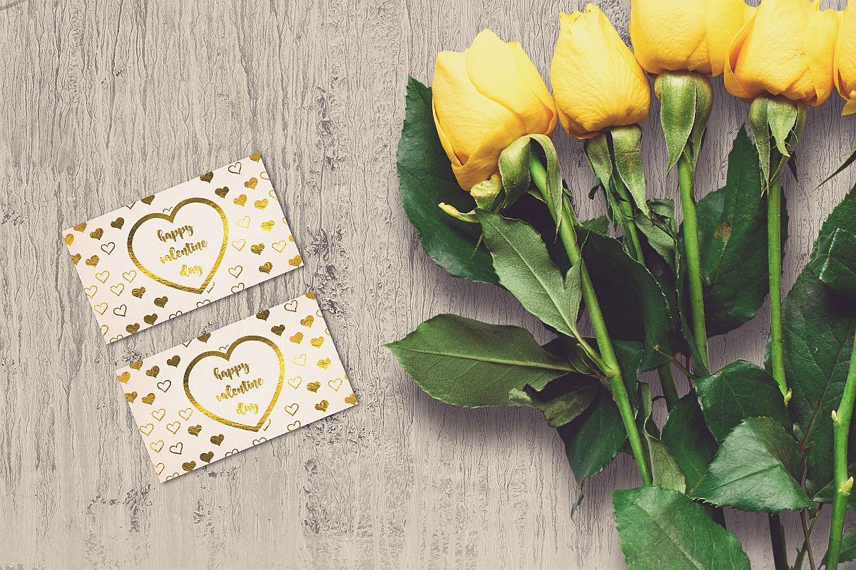 Valentine Card Mock-up #22 example image 1