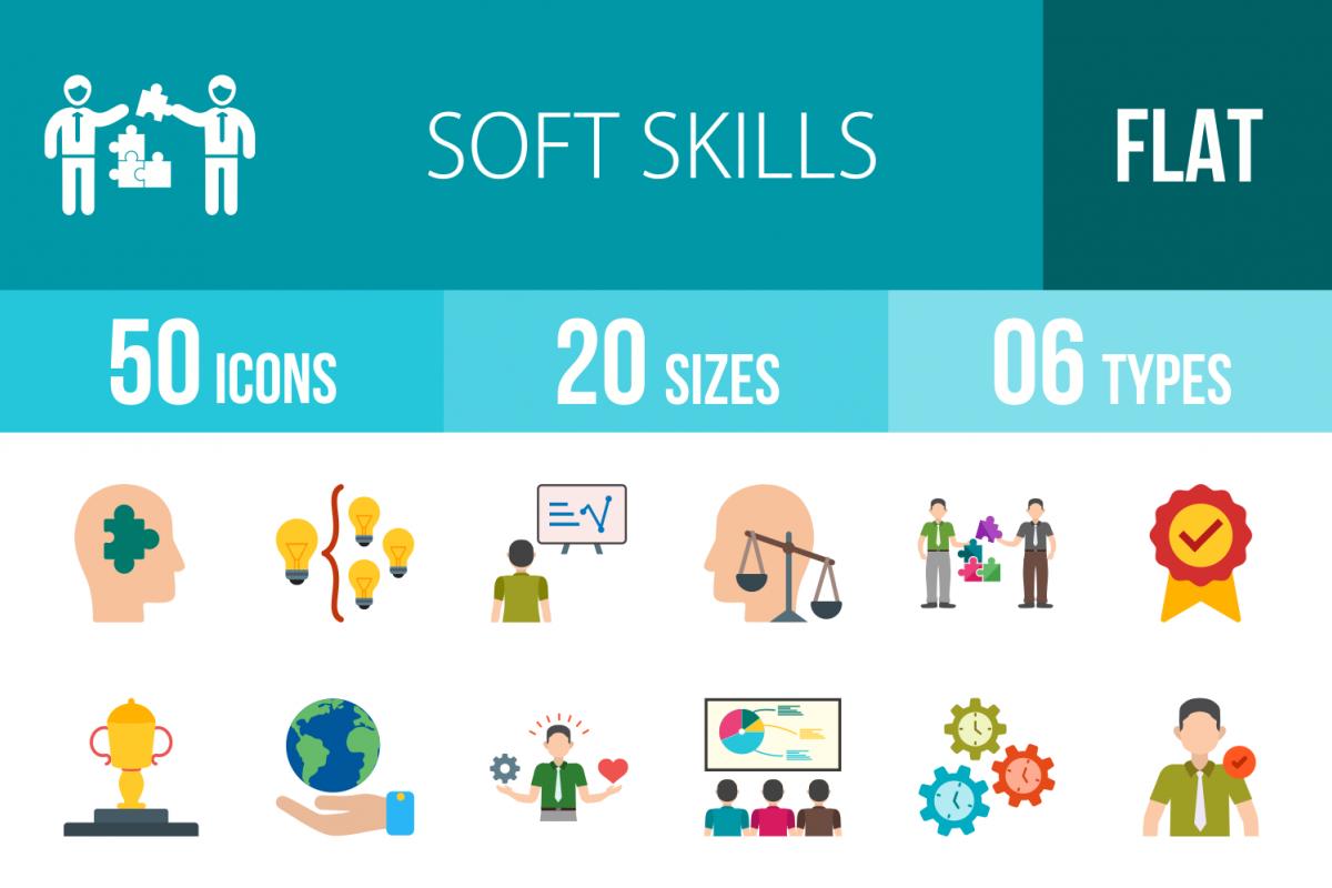 Soft skills icon png