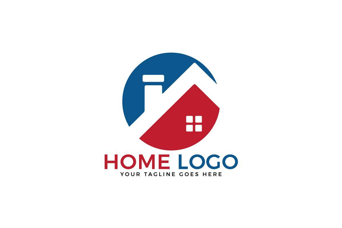 Home vector logo design. Creative Real Estate logo design. example image 1