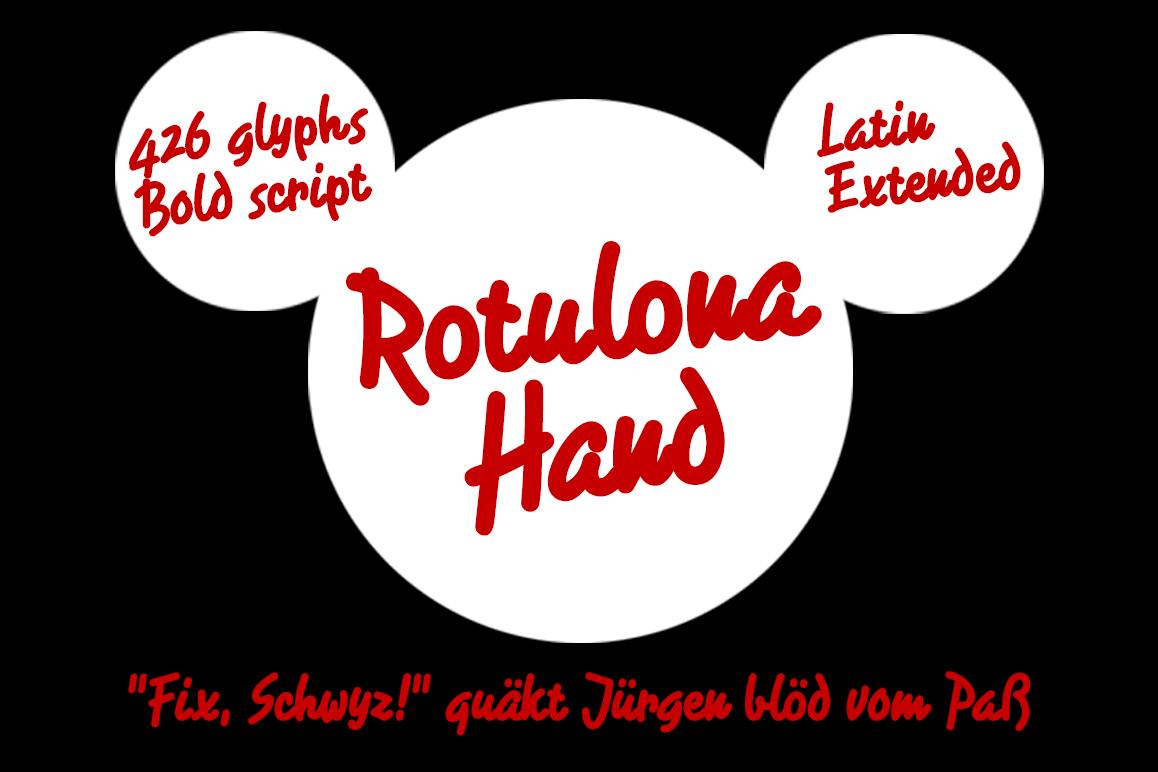 Rotulona Hand example image 1