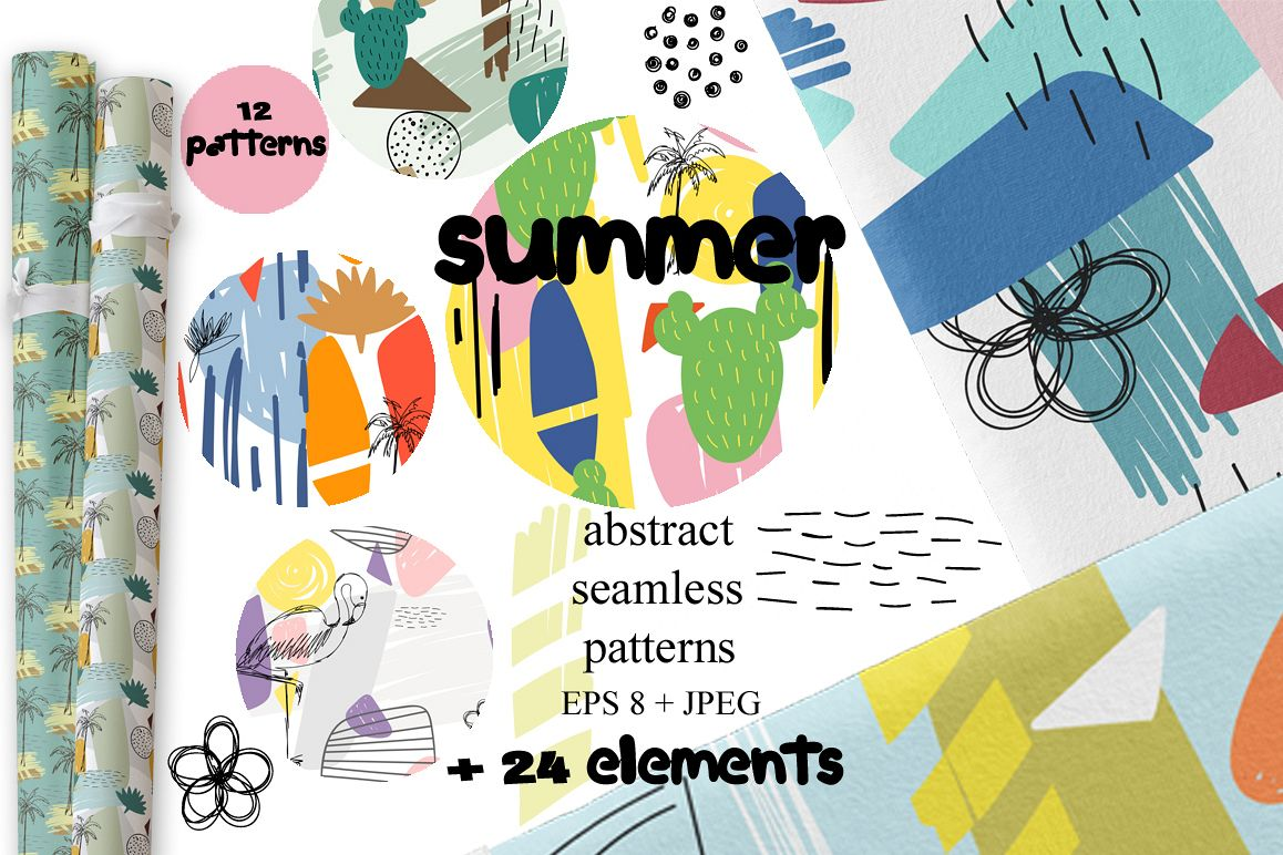 Summer patterns. example image 1