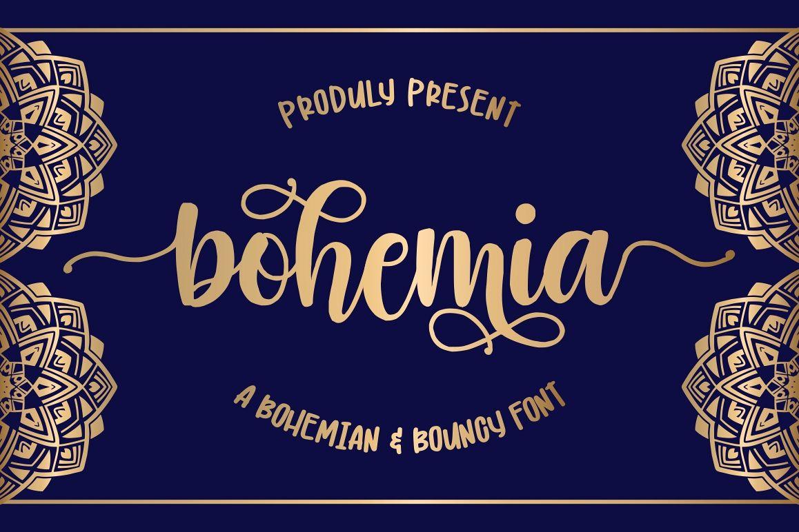 Bohemia - Modern Handlettering example image 1