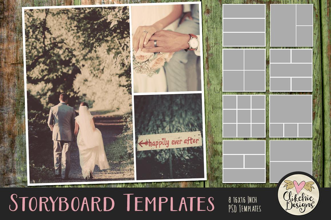 Storyboard Layered Photoshop Photo Templates & Tutorial example image 1