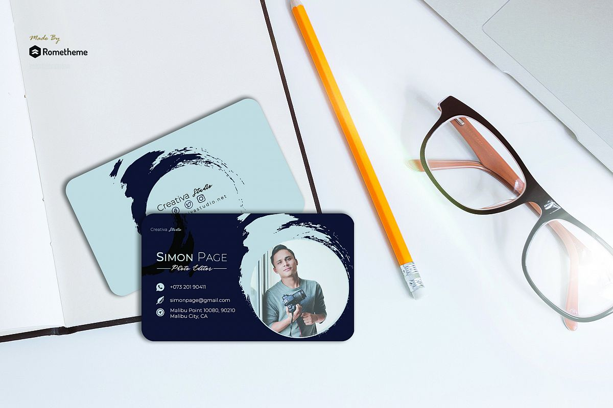 Business Card vol. 20 example image 1