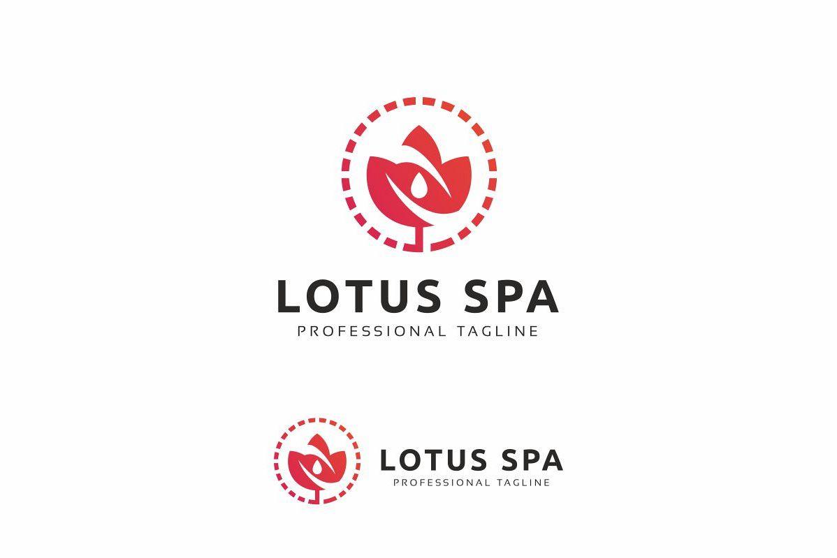 Lotus Spa Logo example image 1