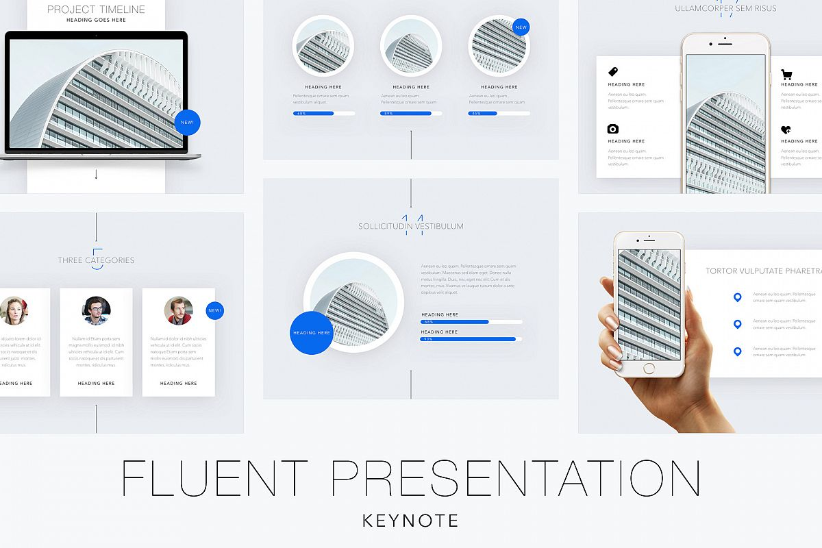 Fluent Keynote Template