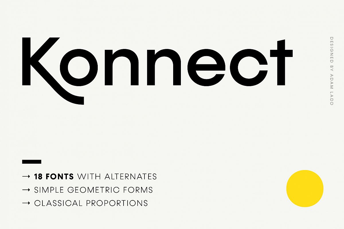 Konnect Font Family example image 1