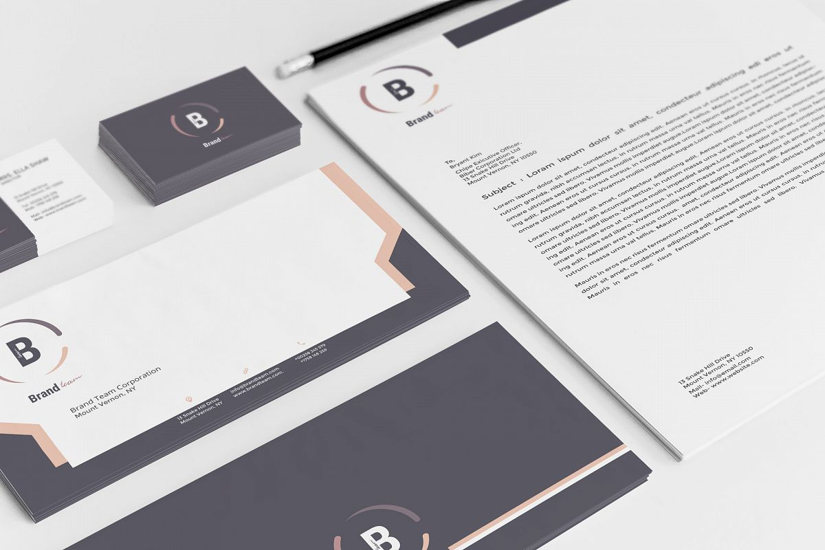 Corporate Identity Pack example image 1