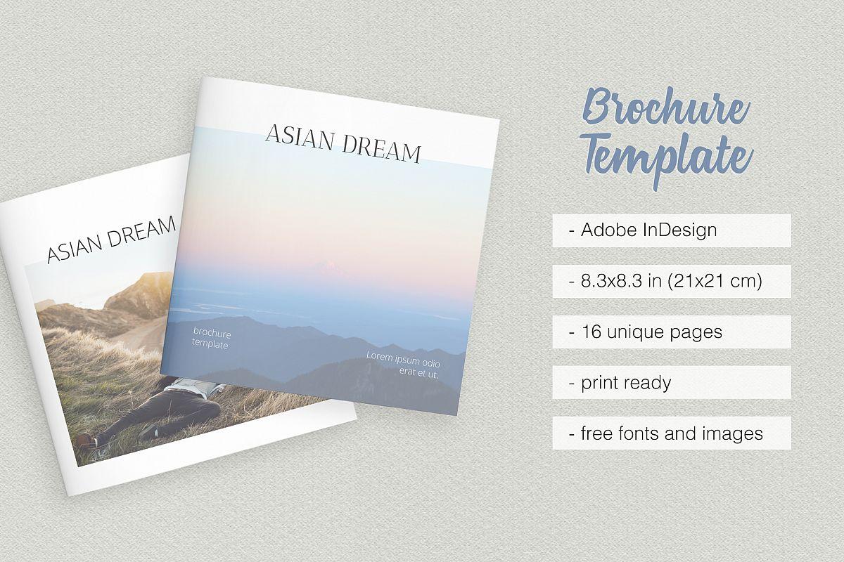 Asian Dream Brochure Template example image 1