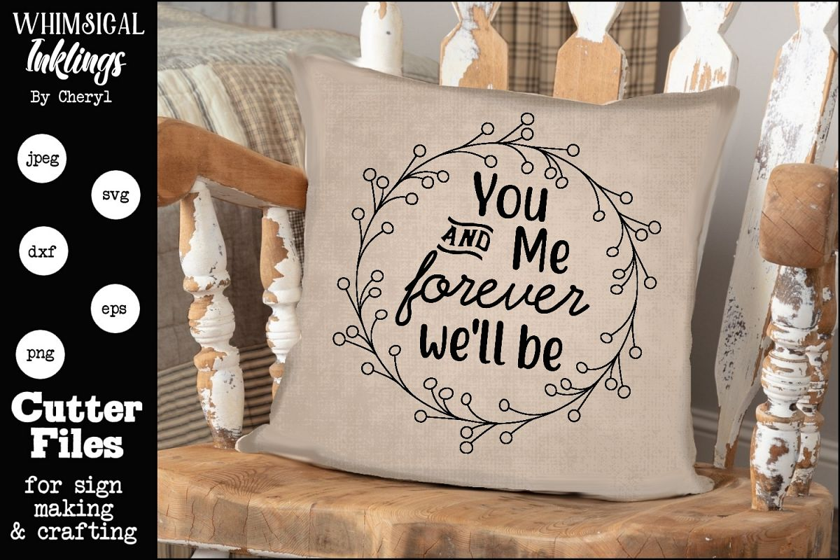 You And Me SVG example image 1