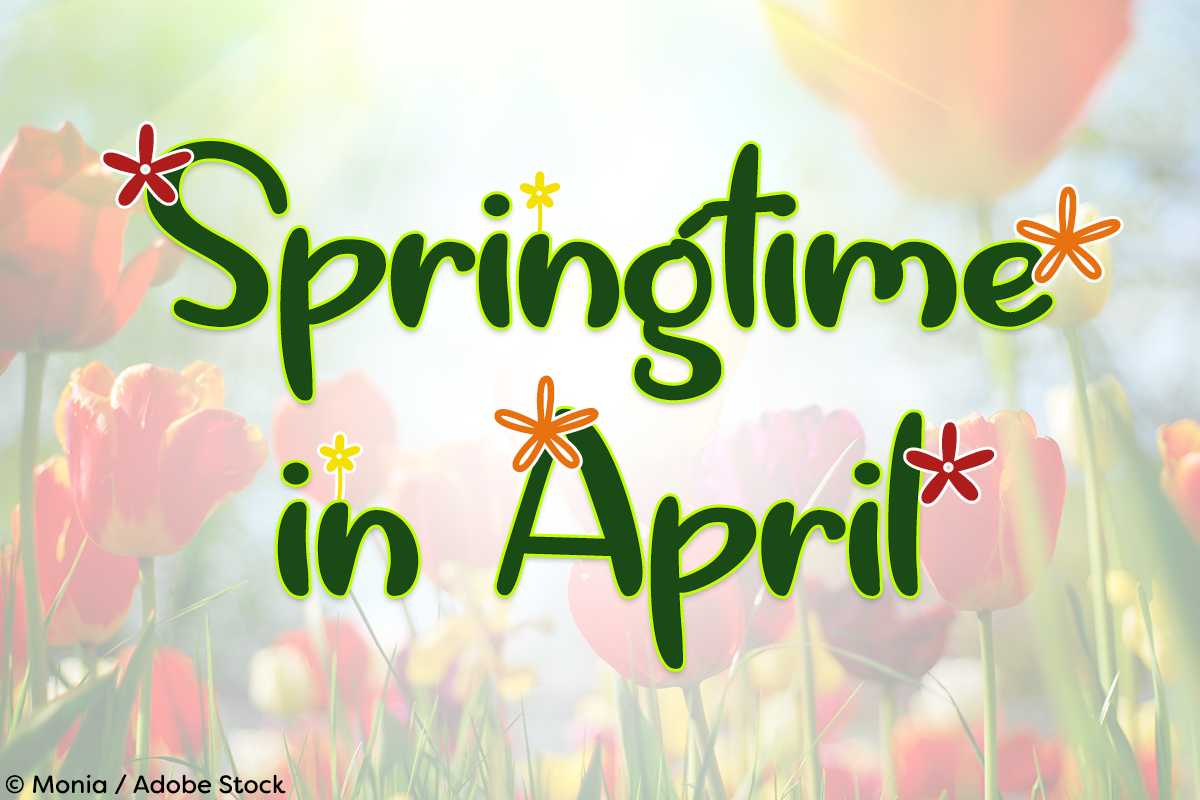 Springtime in April example image 1