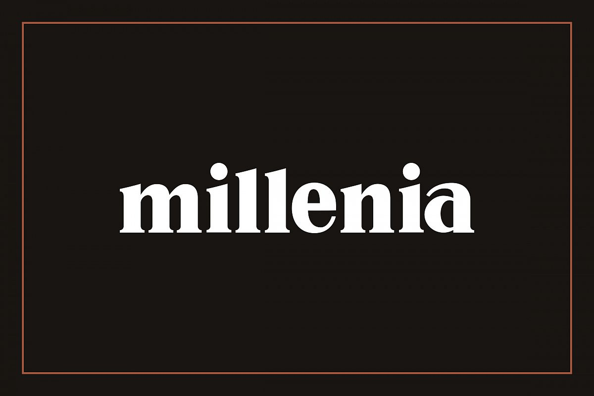 Millenia - Serif Font example image 1