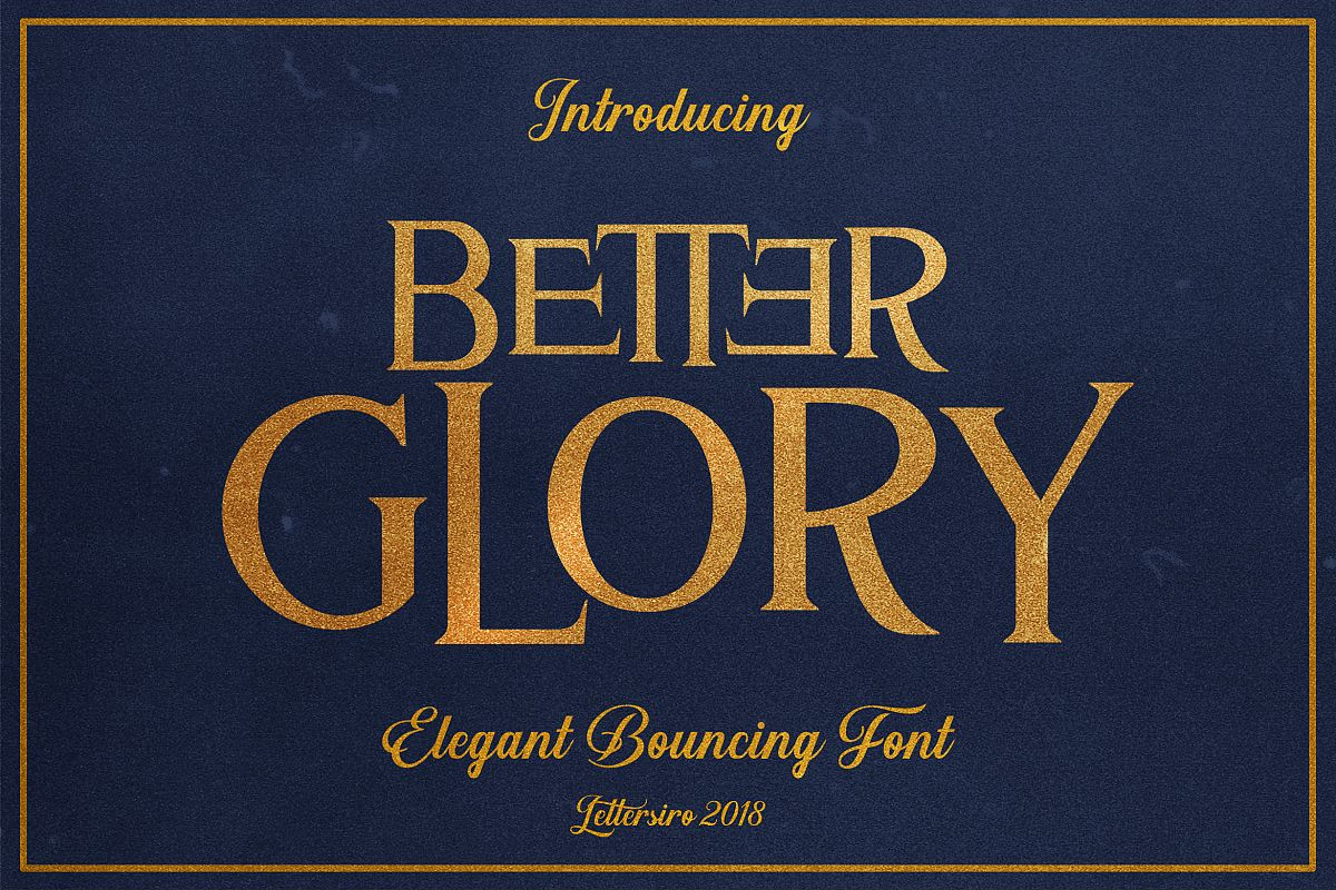 Better Glory example image 1