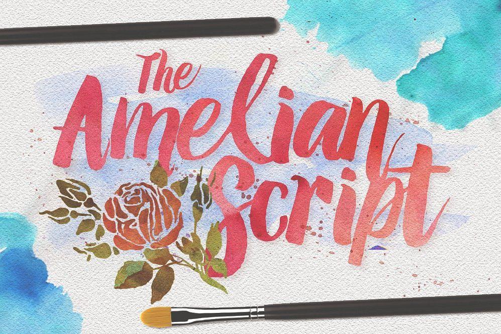 Amelian Script example image 1