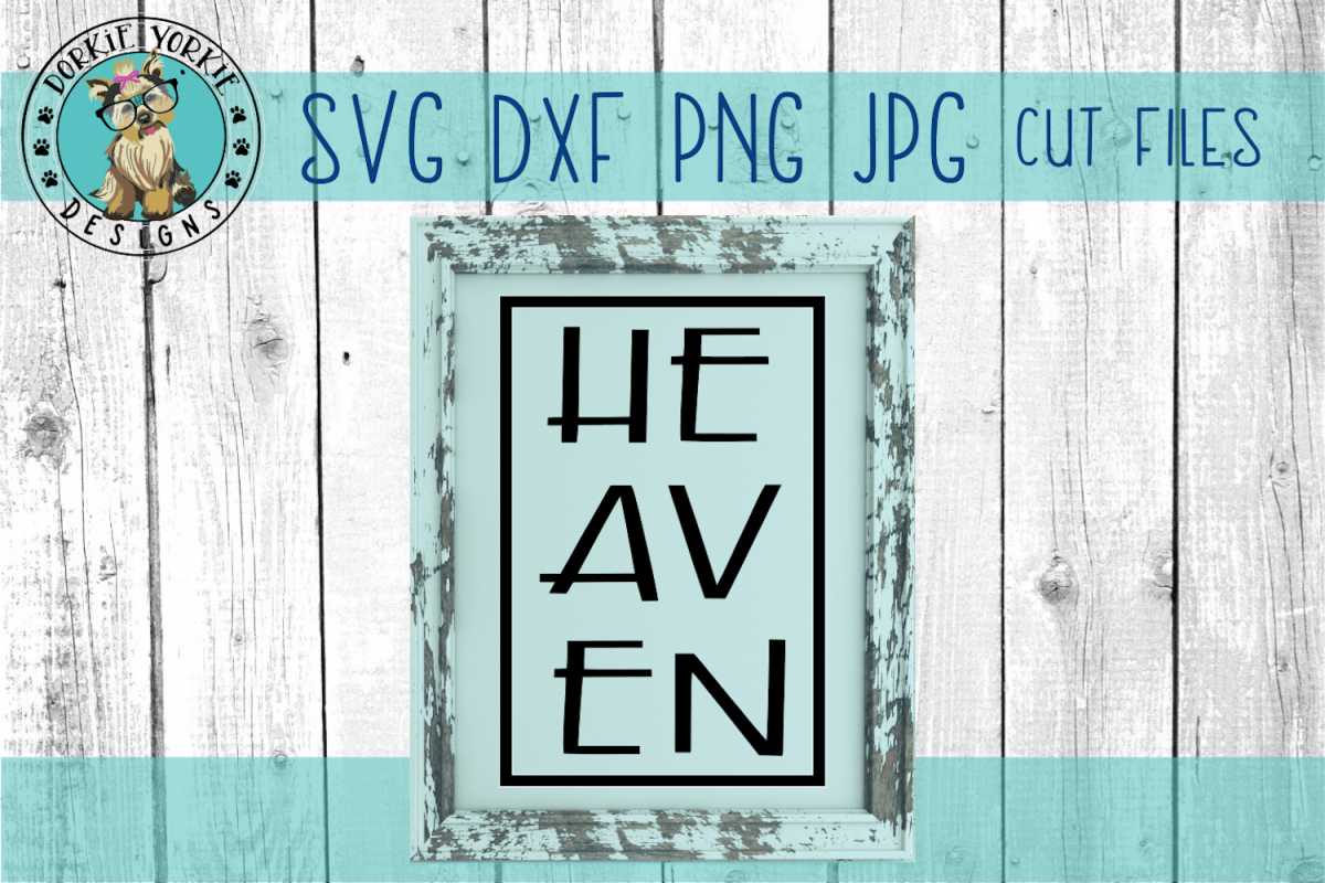 Heaven - sign - SVG Cut File example image 1