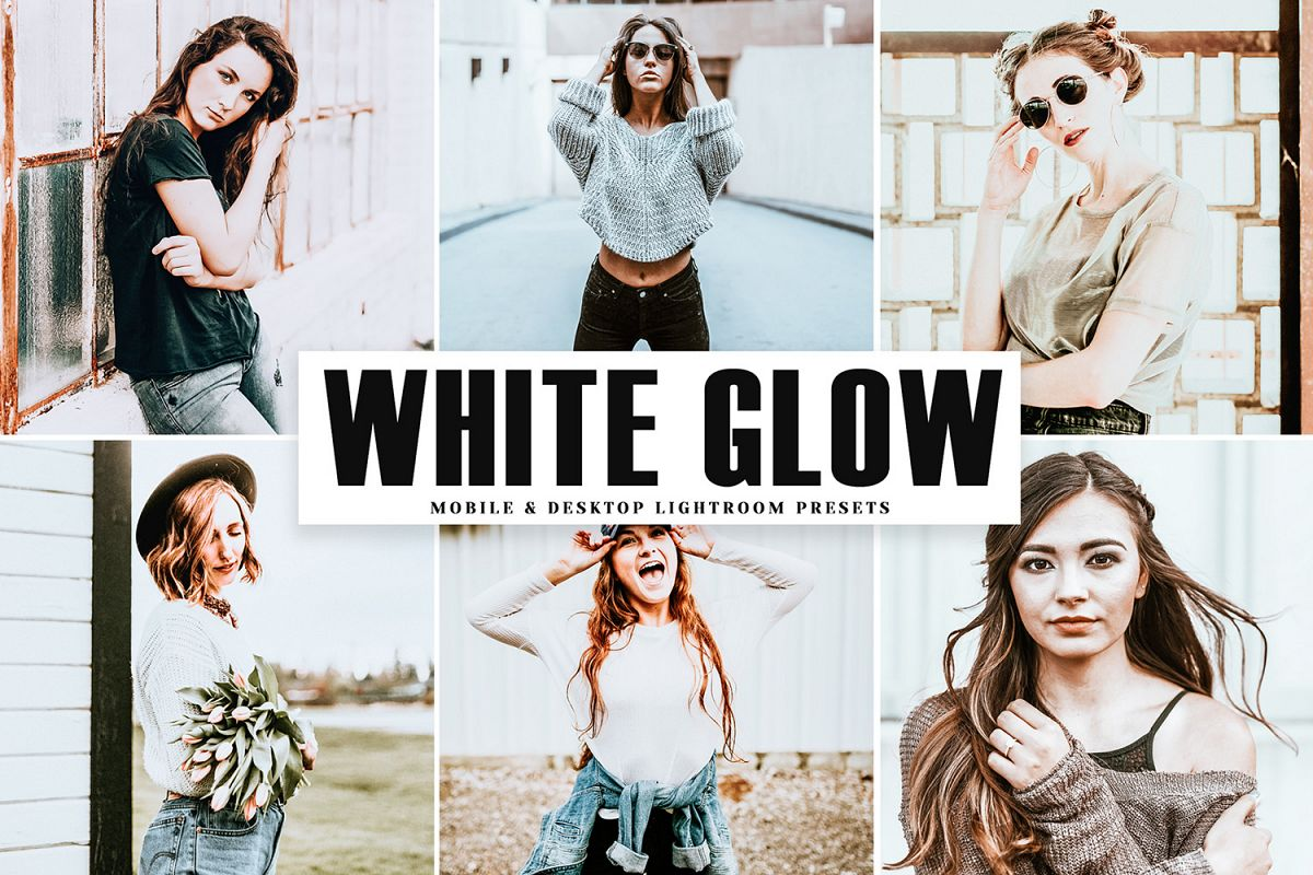 White Glow Mobile & Desktop Lightroom Presets example image 1