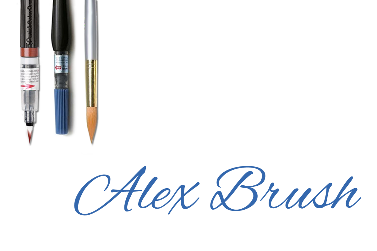 Alex Brush - Part of the Amazing Scripts Bundle! example image 1