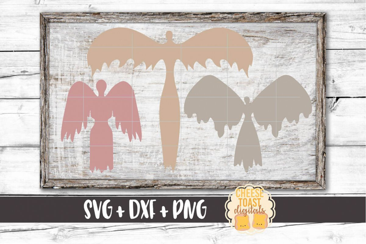 Angel Bundle - Christmas SVG Files - Remembrance example image 1