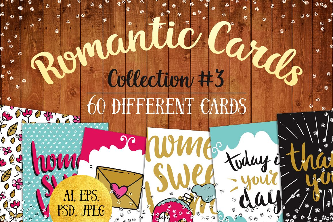 60 Valentine's Day Romantic Cards #3 example image 1