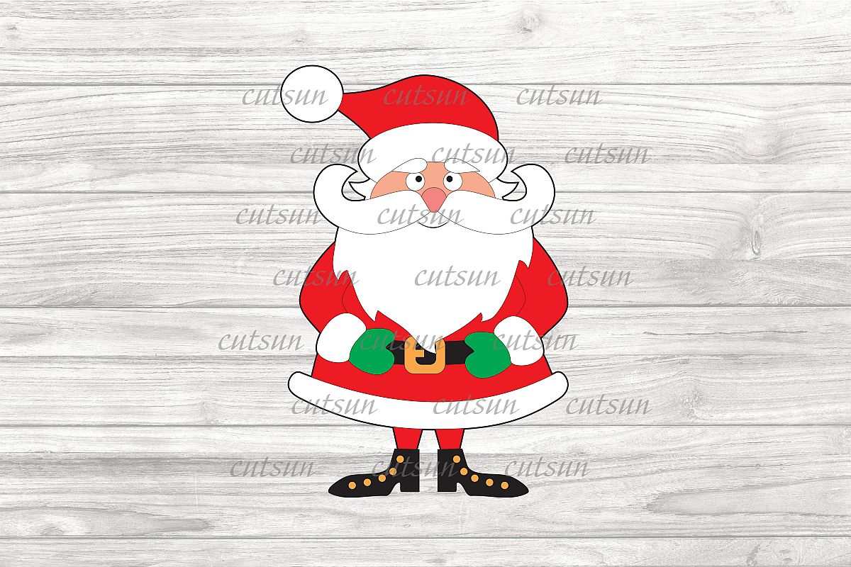 Christmas Clipart Images.Santa Svg Santa Clipart