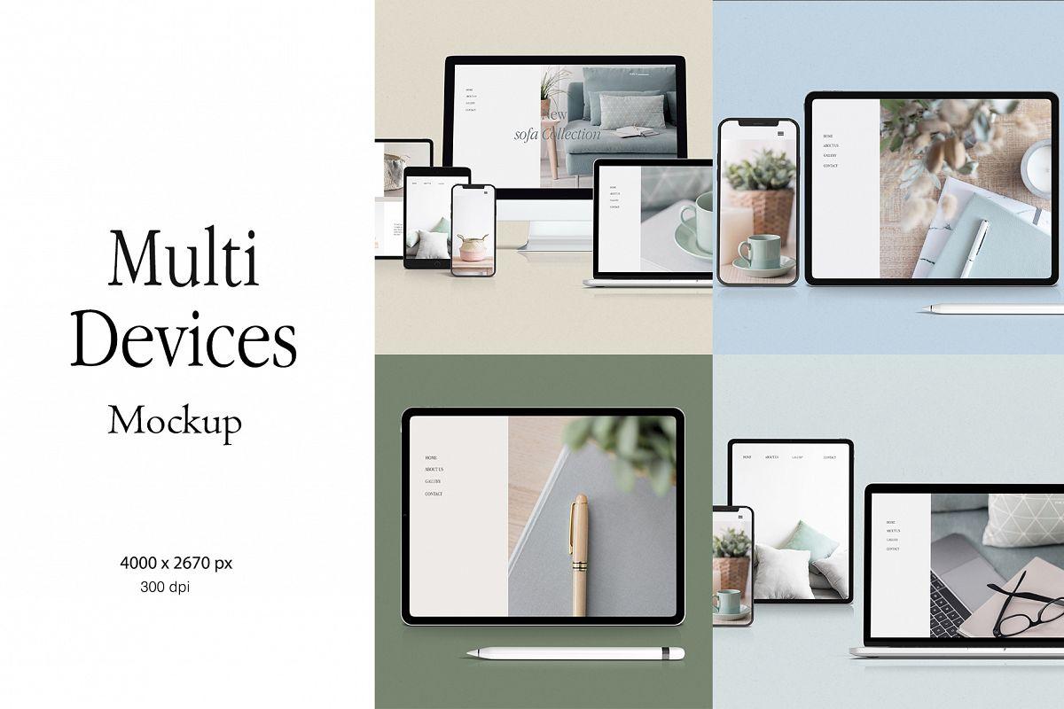 Multi Device Mockup example image 1