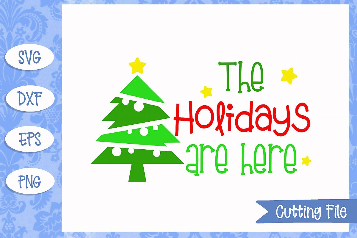 The holidays are here cut File example image 1