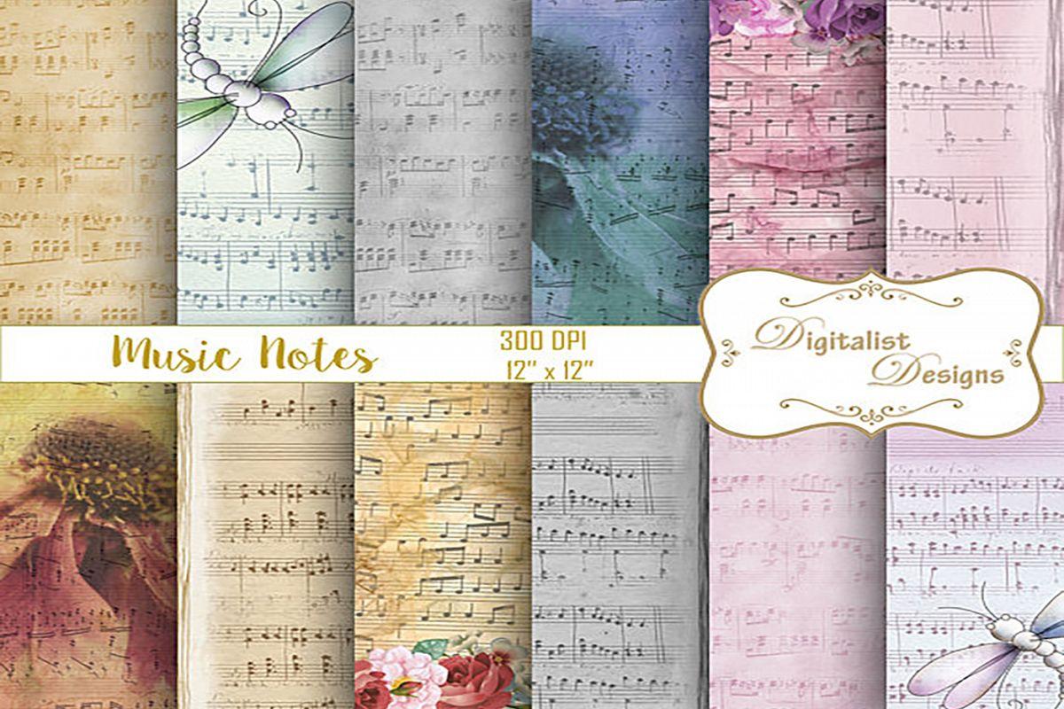 sheet music digital paper 0ff2bec39