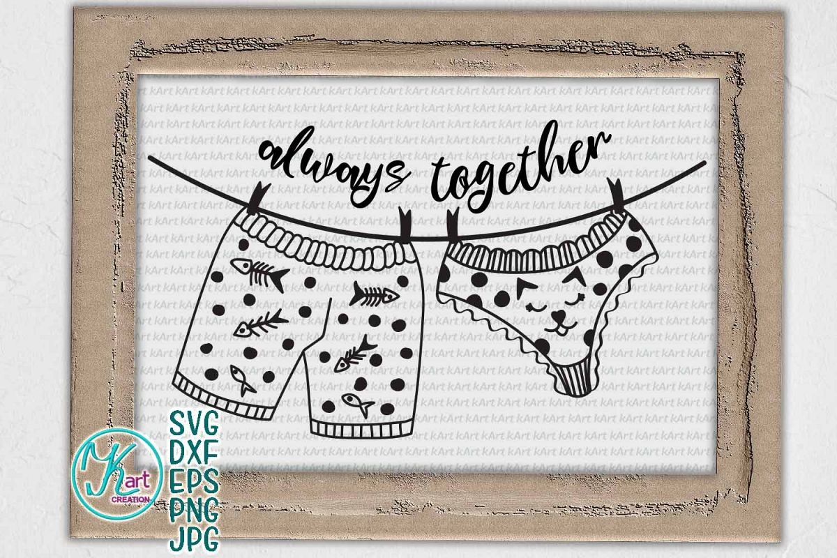 Funny Valentine Couple words bedroom sign machine cut file example image 1