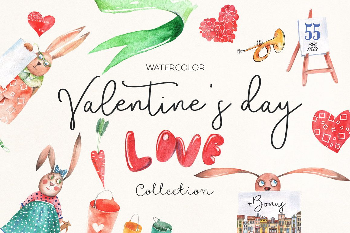 Valentine's Day Love Collection example image 1
