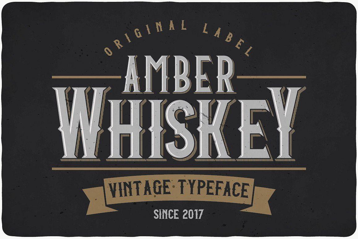 Amber Whiskey example image 1