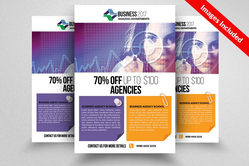 Marketing Consultant Business Flyer example image 1