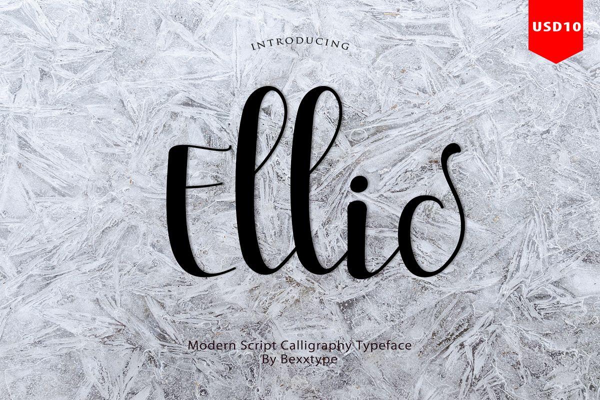 Ellic Script example image 1