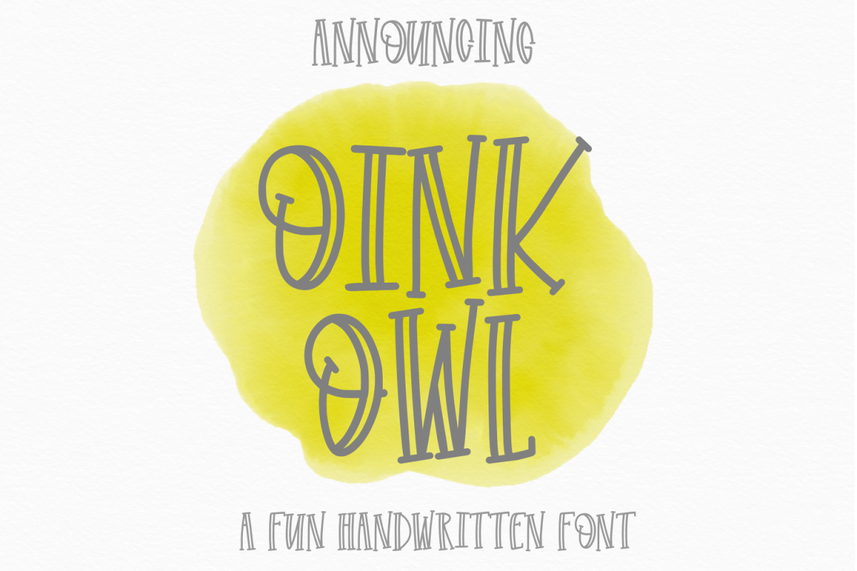 Oink Owl example image