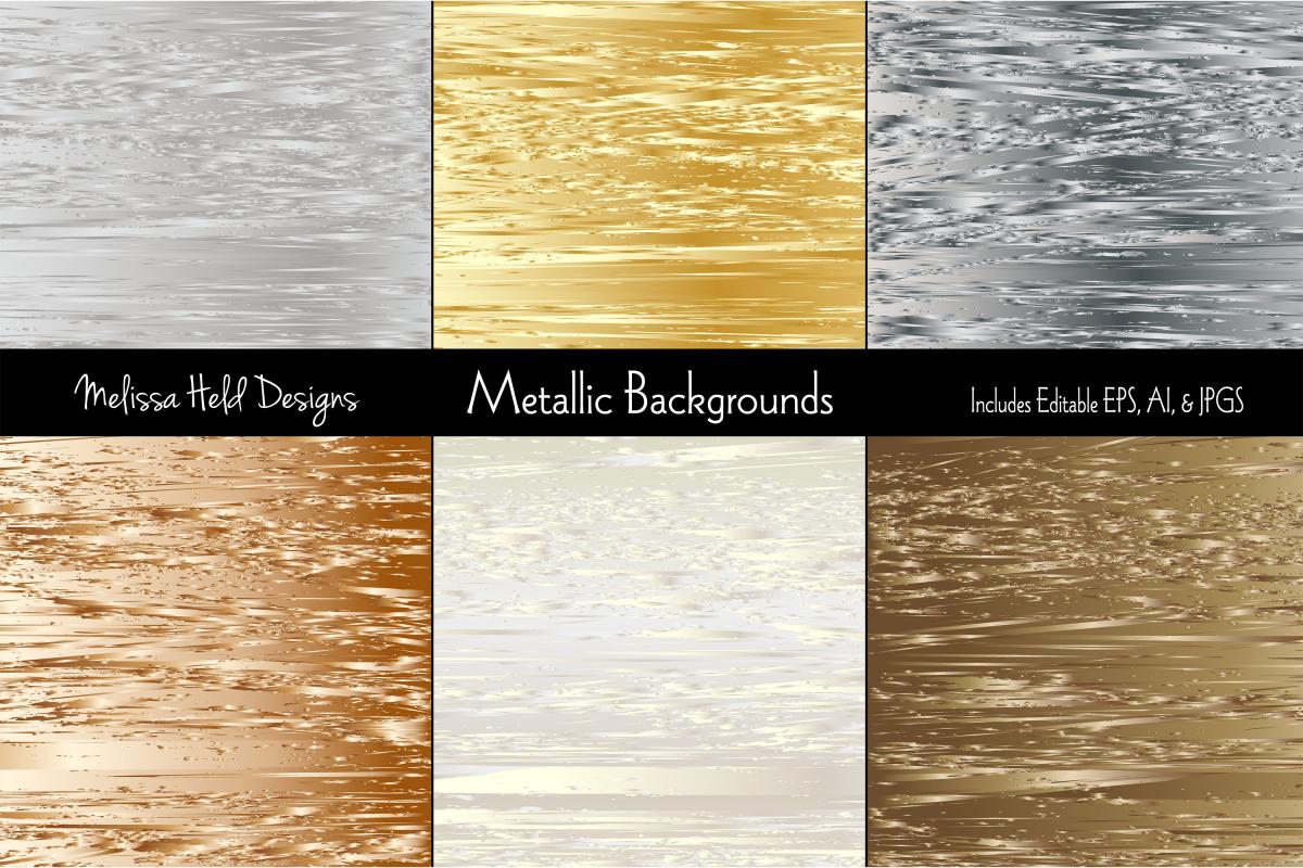 Metallic Textured Backgrounds example image 1