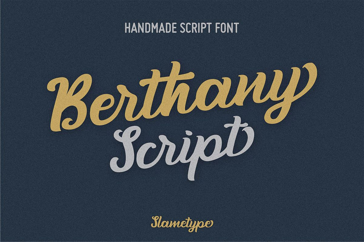 Berthany Script example image 1