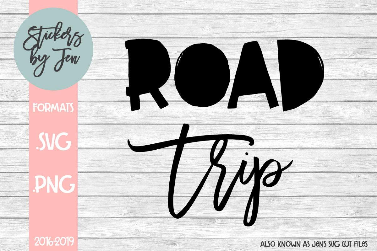 Road Trip svg cut file example image 1