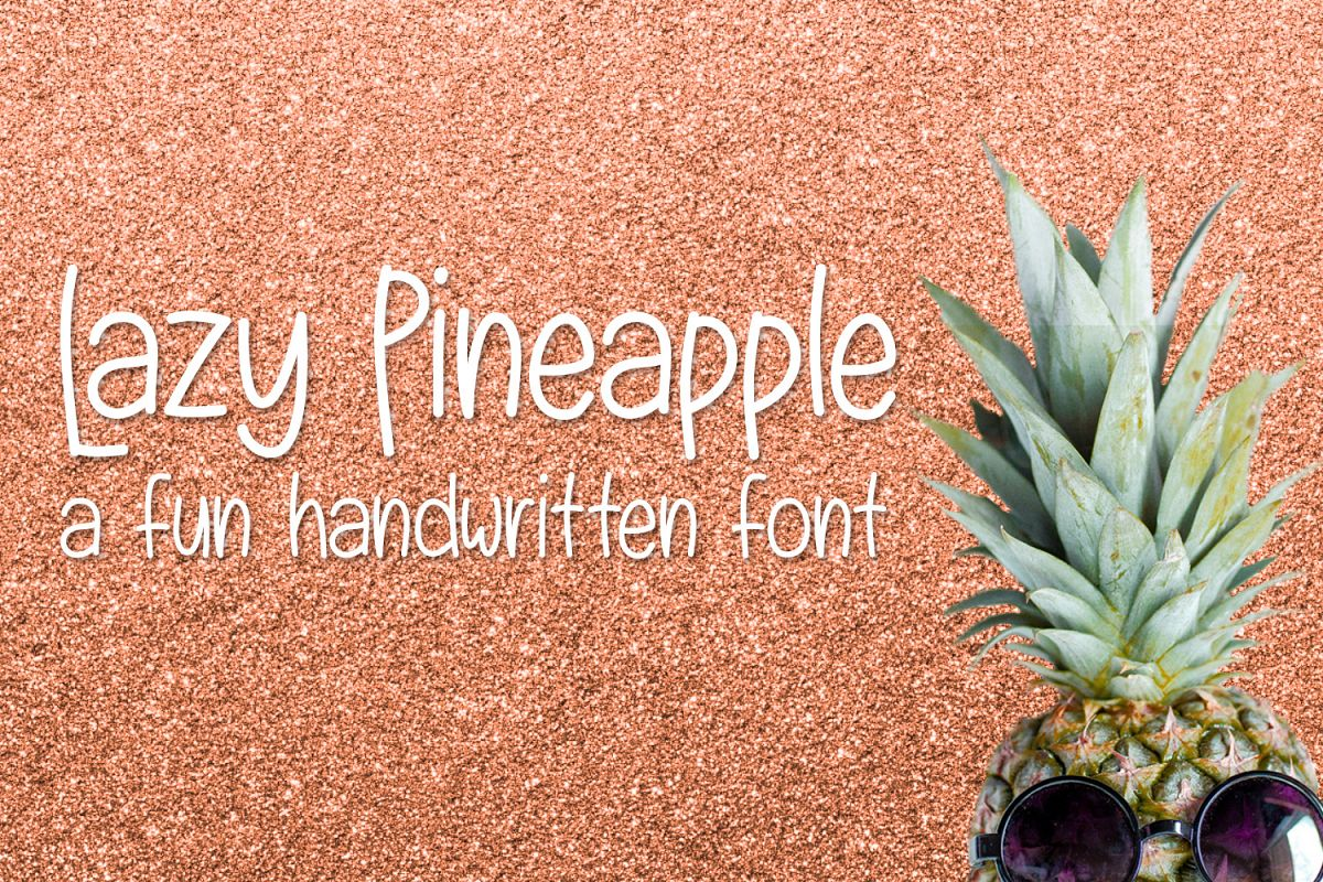 Lazy Pineapple example image 1