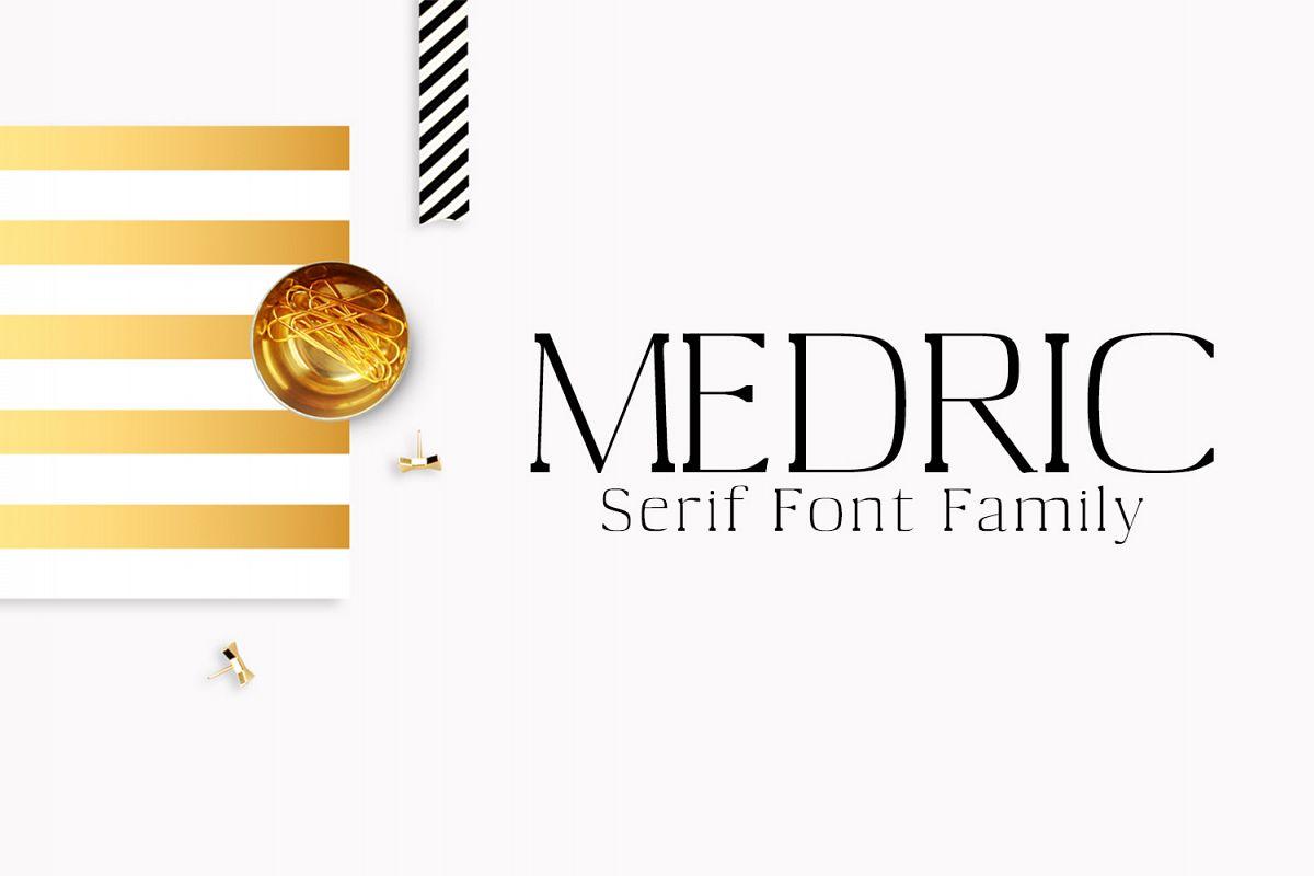 Medric Serif Font Family example image 1