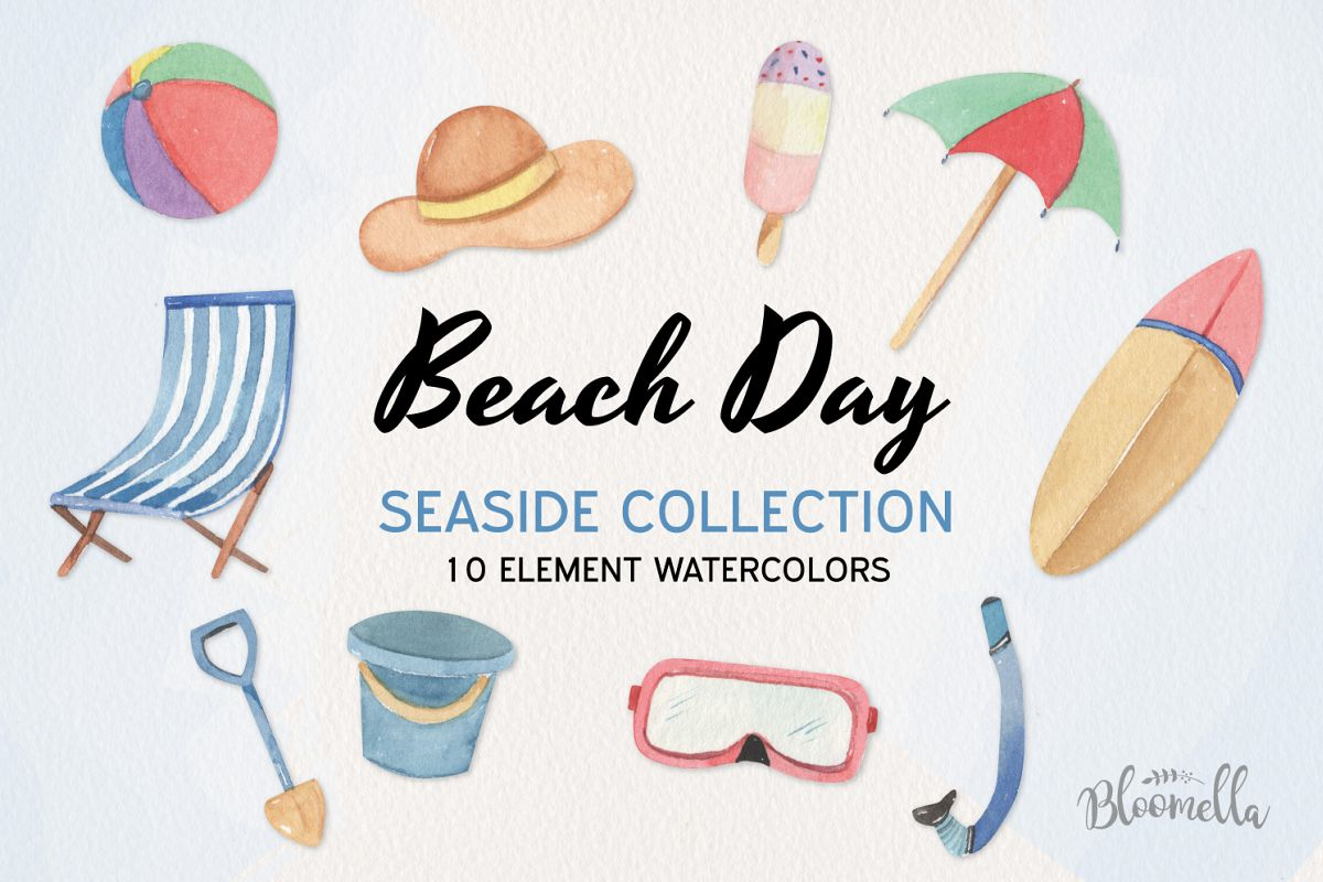 Beach Day Seaside Collection example image 1