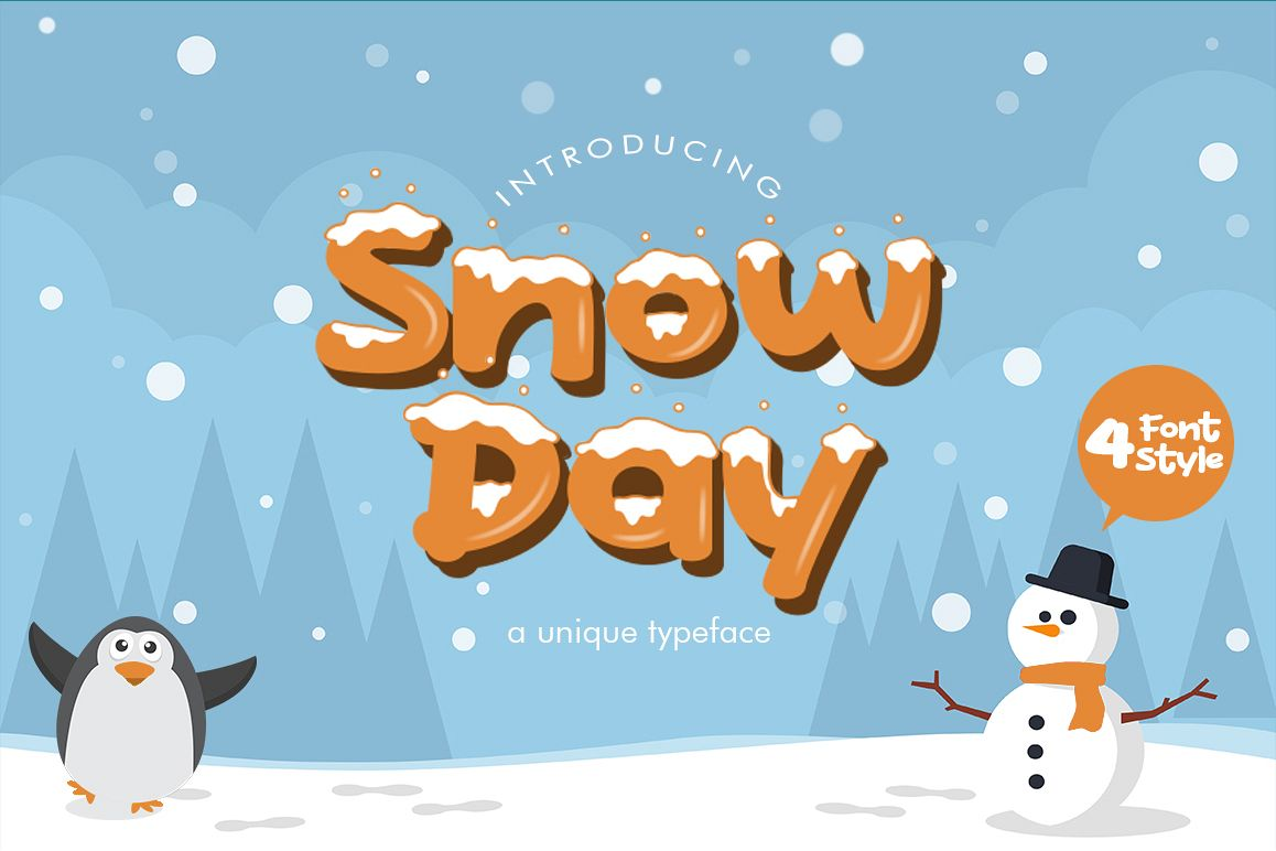 Snow Day Display example image 1